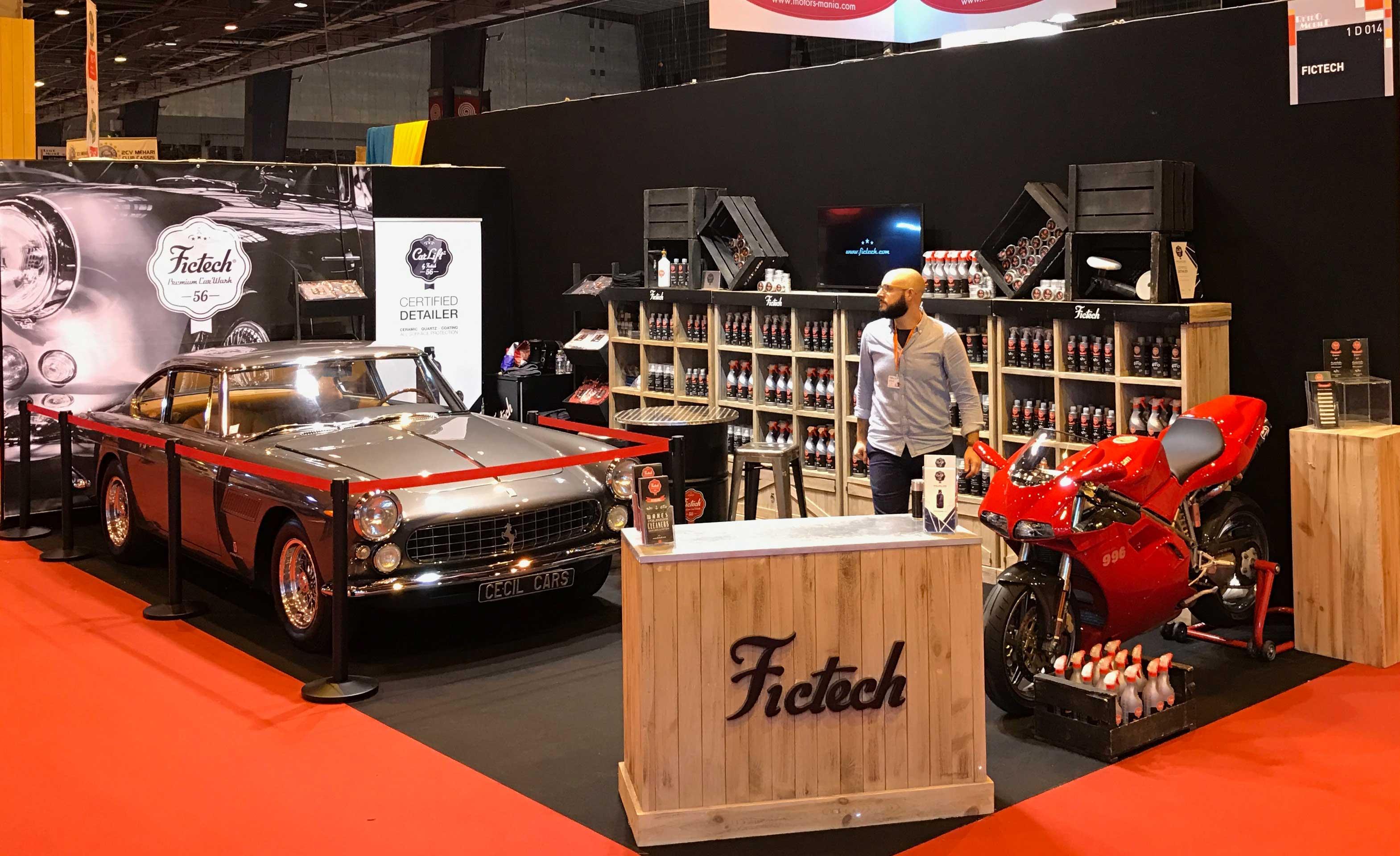 Jeux concours retromobile 2017 fictech premium car wash for Salon retromobile lyon